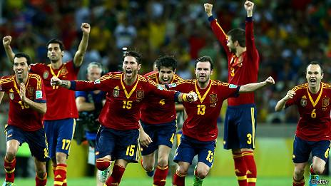 القوة الذهنية مفتاح التفوق الأسباني
