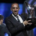 ريبيري يتفوق على رونالدو وميسي ويحرز جائزة أفضل لاعب بأوروبا