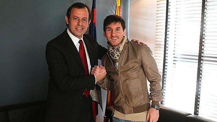 ساندرو روسيل: ميسي يساوي 580 مليون يورو
