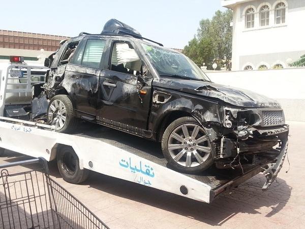 سيارة الوليد تعرضت للانقلاب 3 مرات