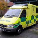 سيارة إسعاف تصل لمريض بريطاني بعد 4 سنوات على وفاته !!
