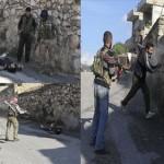 الجيش الحر يقتل رجل اعزل