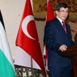 طلب باعطاء فلسطين صفة الدولة من قبل اوغلو