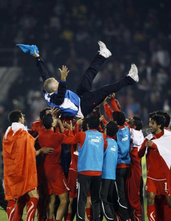 للمرة الأولى في تاريخه: منتخب البحرين بطلاً لمنافاسات كرة القدم في دورة الألعاب العربية في قطر على حساب الأردن