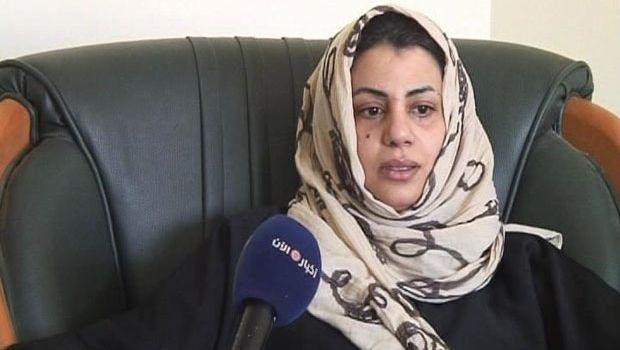 هالة المصراتي بعد اعتقالها