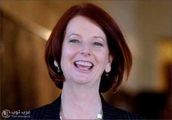 صورة رئيسة وزراء أستراليا جوليا جالارد