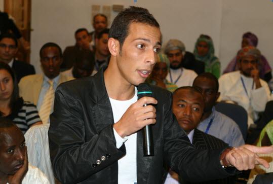 """الإعلامي """"محمد المومني"""""""