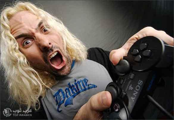دراسة علمية : ألعاب الفيديو العنيفة قد تغيّر وظيفة الدماغ العاب لاعب فيديو جيمز GAMES
