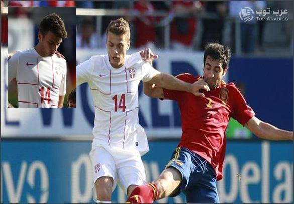 استبعاد اللاعب المسلم ادم ليايتش من منتخب صربيا بسبب النشيد الوطني