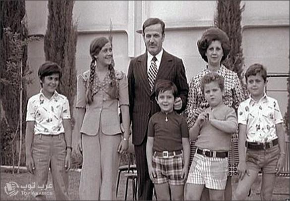 عائلة الاسد الحاكمة في سوريا