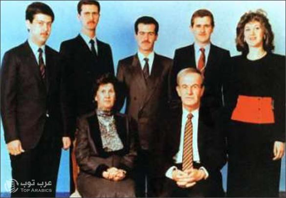 صورة عائلة الاسد