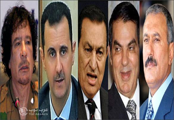 قادة العرب الذين سقطوا