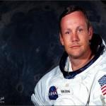 وفاة اول رائد فضاء يهبط على القمر