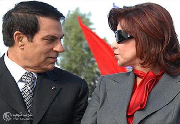 انفصال بن علي وليلى الطرابلسي