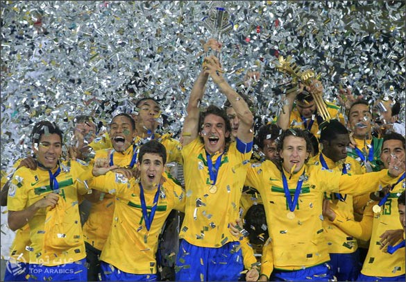 صور تتويج البرازيل بلقب كاس العالم للشباب