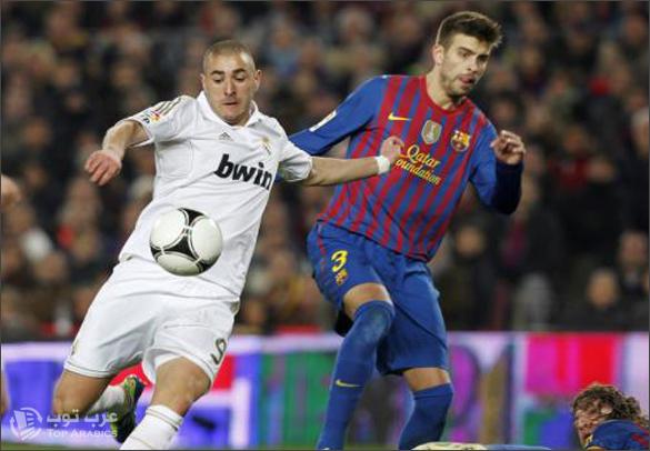 كلاسيكو ريال مدريد وبرشلونة