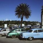 صورة من سيارات كوبا الشيوعية التي تسمح بـ استيراد السيارات بعد 50 سنة من منع الاستيراد.