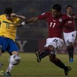 منتخب مصر ومنتخب البرازيل كاس العالم للشباب
