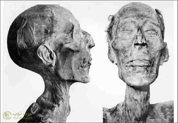 مومياء فرعون رمسيس الثاني
