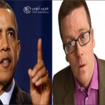 رد صاعق من الفنان الاسكتلندي على تهنئة اوباما للمسلمين