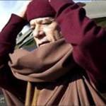 هروب القذافي