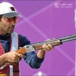 ناصر العطية يحرز اول ميدالية عربية في اولمبياد لندن 2012