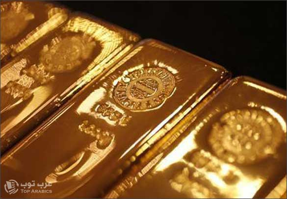 اسعار الذهب مع شعار عرب توب