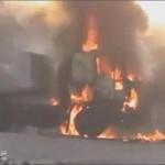 صور قصف حماة بالمدافع وقذائف هاون