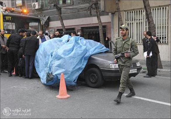 مقتل عالم ايراني في طهران