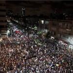 خروج اكثر من ربع مليون اسرائيلي في مظاهرات مطالبين باصلاحات اقتصادية