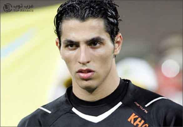 حارس المرمى الكويتي خالد الرشيدي الذي صد ركلة جزاء وسجل هدفاً في دقيقة واحدة !