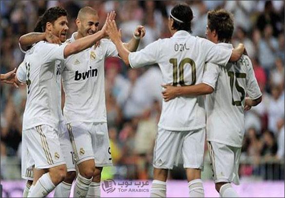 ريال مدريد يتصدر الليغا