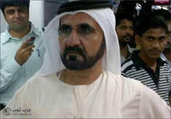 صورة الشيخ محمد بن راشد آل مكتوم في مترو دبي من دون حراس