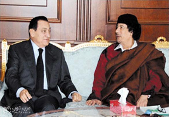 صور مبارك صور القذافي