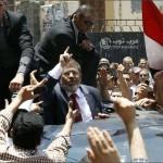 مرسي رئيسا لمصر