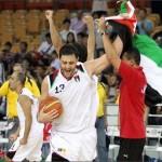 صور فرحة المنتخب الاردني لكرة السلة