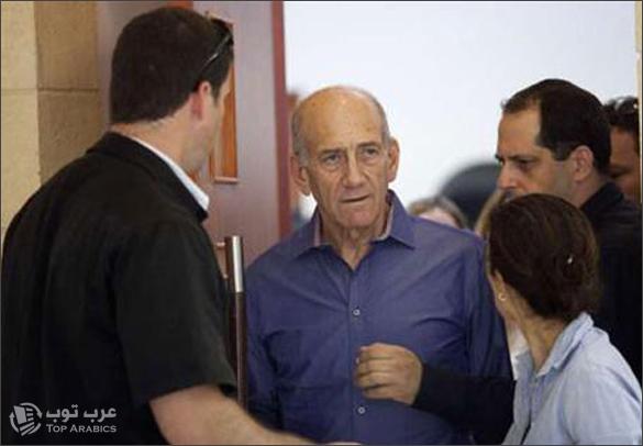 سجن ايهود اولمرت رئيس الوزراء الاسرائيلي الاسبق