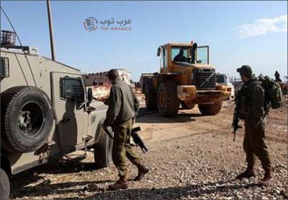 سيارة اسرائيلية تدهس فلسطيني