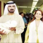 الشيخ محمد بن راشد والاميرة هيا يرزقان بمولود جديد