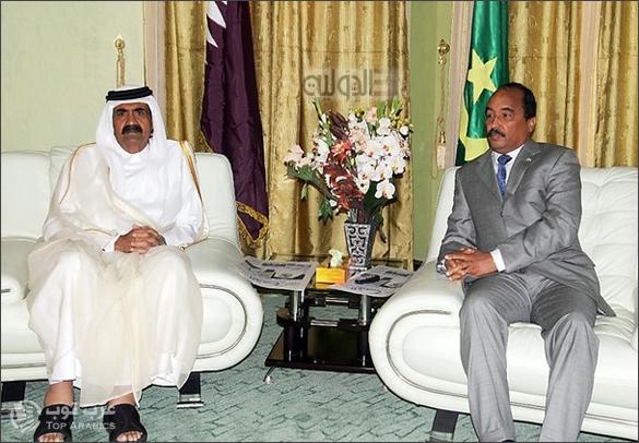 طرد الرئيس القطري من موريتانيا