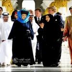 جدل حول ارتداء ملكة هولندا الحجاب في مسقط !!