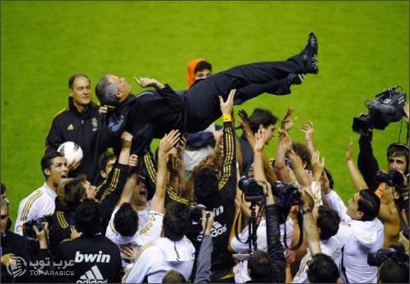 ريال مدريد بطلا لليغا 2011-2012
