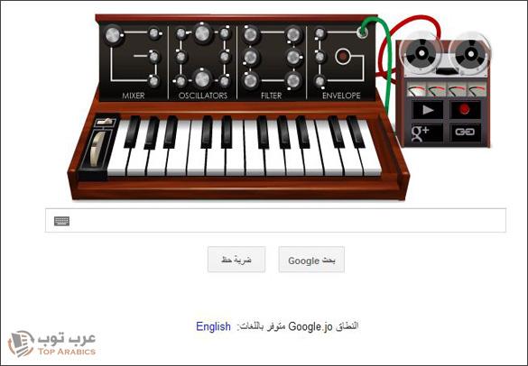 جوجل تحتفل بميلاد روبرت موغ