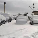 الثلوج في بلاد الشام