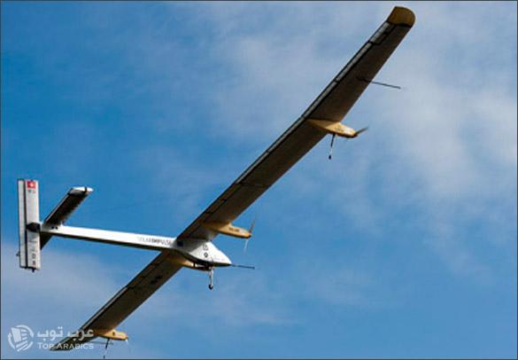 اول طائرة تعمل بالطاقة الشمسية