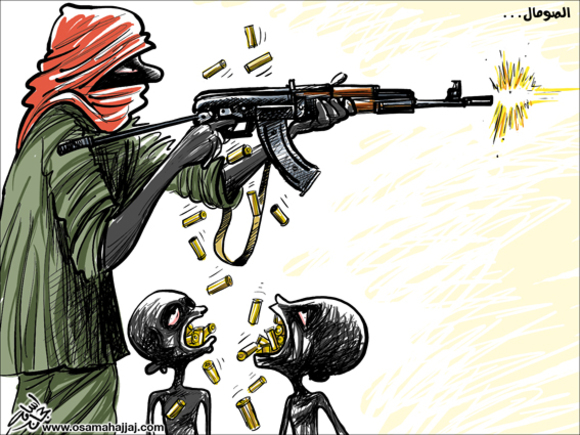 كاريكاتير الصومال