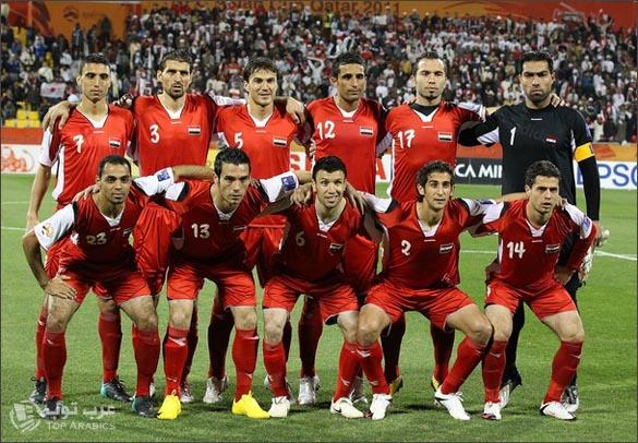 حرمان المنتخب السوري من المشاركة بكاس العالم 2014