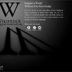ويكيبيديا و ووردبريس تغلق مواقعها احتجاجاً على تشريعات تقييد حرية الإنترنت ضد القرصنة !